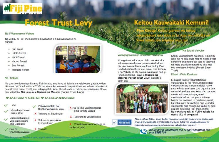 Forest Trust Levy Itaukei